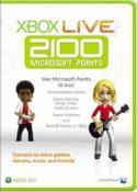 Carte 2100 points (xbox 360)