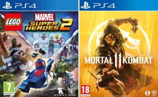 25€ de réduction pour l'achat de 2 jeux Warner (PS4, Xbox One)