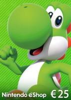 Carte Nintendo eShop de 25€