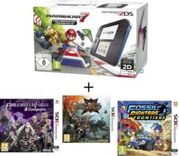 "2DS pack ""Mario Kart 7"" + 3 jeux"