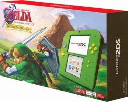 "2DS édition limitée ""Zelda : Ocarina of Time"""