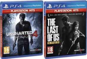 """2 jeux """"PlayStation Hits"""" pour 30€"""