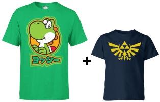 Un t-shirt Nintendo adulte acheté = un t-shirt Nintendo enfant offert