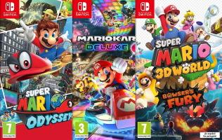 3 jeux Switch pour le prix de 2
