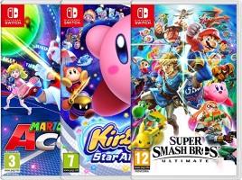 2 jeux Switch achetés = le troisième offert