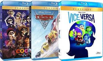 Offre Disney : 3 blu-ray pour 30€