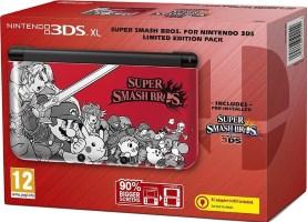 """Console 3DS XL édition limitée """"Super Smash Bros."""""""