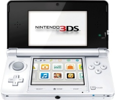 Nintendo 3DS blanc artique