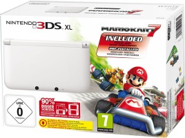 3DS Blanche édition limitée avec Mario Kart 7