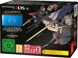 """Console Nintendo 3DS XL bleue édition limitée """"Fire Emblem : Awakening"""""""
