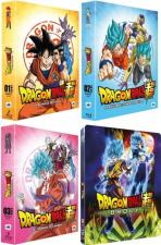 3 coffrets Dragon Ball Super + Film Broly (blu-ray)