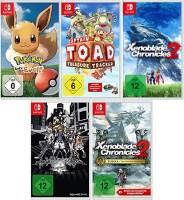 5 jeux Switch pour 104.41€