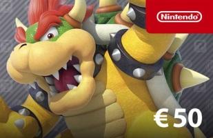 Carte 50€ eShop