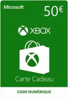 Carte Xbox Live de 50€