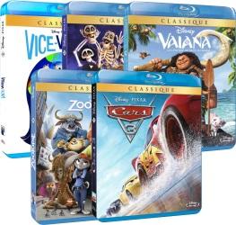 Offre Disney : 5 blu-ray pour 50€