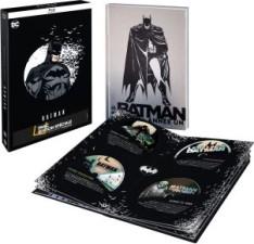 Coffret 8 films animés Batman + 1 comic book (blu-ray)