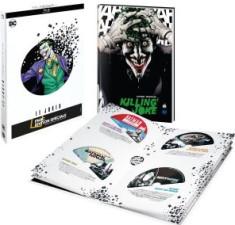 Coffret 8 films animés Joker + 1 comic book (blu-ray)