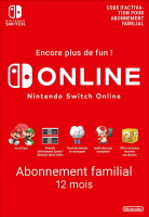 Abonnement Online Switch 12 mois famille