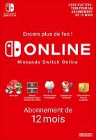 Abonnement 12 mois Online Switch