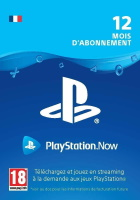 Abonnement PlayStation Now 12 mois (PS4)