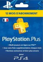 Abonnement 12 mois PlayStation+