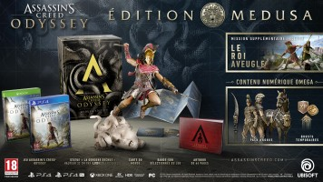 Assassin's Creed: Odyssey édition Medusa (PS4)