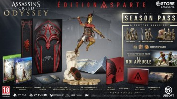 Assassin's Creed Odyssey édition Sparte