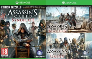 Assassin's Creed Syndicate + Assassin's Creed Black Flag + Assassin's Creed Unity (Xbox One)