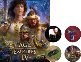Age of Empires IV (PC) + 4 magnets