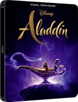 Aladdin édition steelbook (blu-ray 4k)