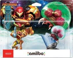 Double pack Amiibo Samus et Metroid