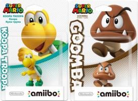 Amiibo Koopa Troopa et Goomba