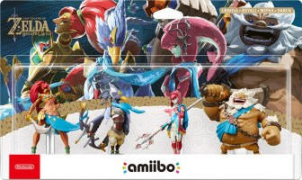 Quadruple pack d'amiibo Prodiges de Zelda : Breath of the Wild