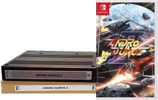 Andro Dunos II édition collector (Switch)
