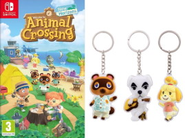 Animal Crossing: New Horizons (Switch) + porte-clés offert