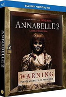 Annabelle 2 : la création du mal (blu-ray)