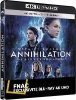 Annihilation (blu-ray 4k)