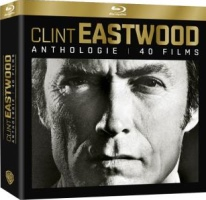 Coffret Anthologie Clint Eastwood : 40 films (blu-ray)