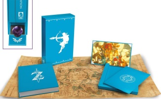 "Artbook ""Zelda Breath of The Wild : Creating a Champion"" édition limitee"