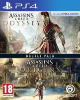 Assassin's Creed: Odyssey + Origins double pack (PS4)