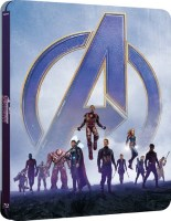 Avengers: Endgame édition steelbook (blu-ray 4K)