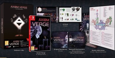 Axiom Verge édition multiverse (Switch)