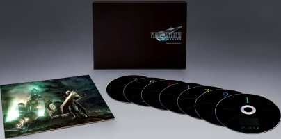 Bande originale Final Fantasy VII Remake en CD