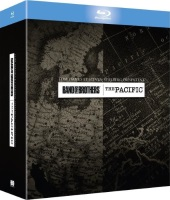 "Coffret ""Band of Brothers"" + ""The Pacific"" (blu-ray)"