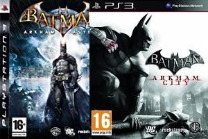 Batman: Arkham Asylum + Batman: Arkham City (PS3)