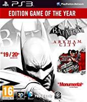 Batman: Arkham City édition jeu de l'année (PS3)
