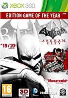 Batman: Arkham City édition jeu de l'année (Xbox 360)