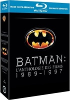Anthologie Batman 1989-1997 (blu-ray)