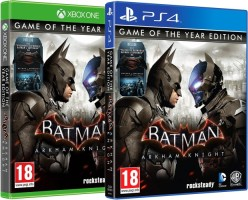 Batman Arkham Knight édition GOTY (PS4, Xbox One)