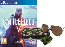 Battlefield V (PS4) + lunettes aviateur